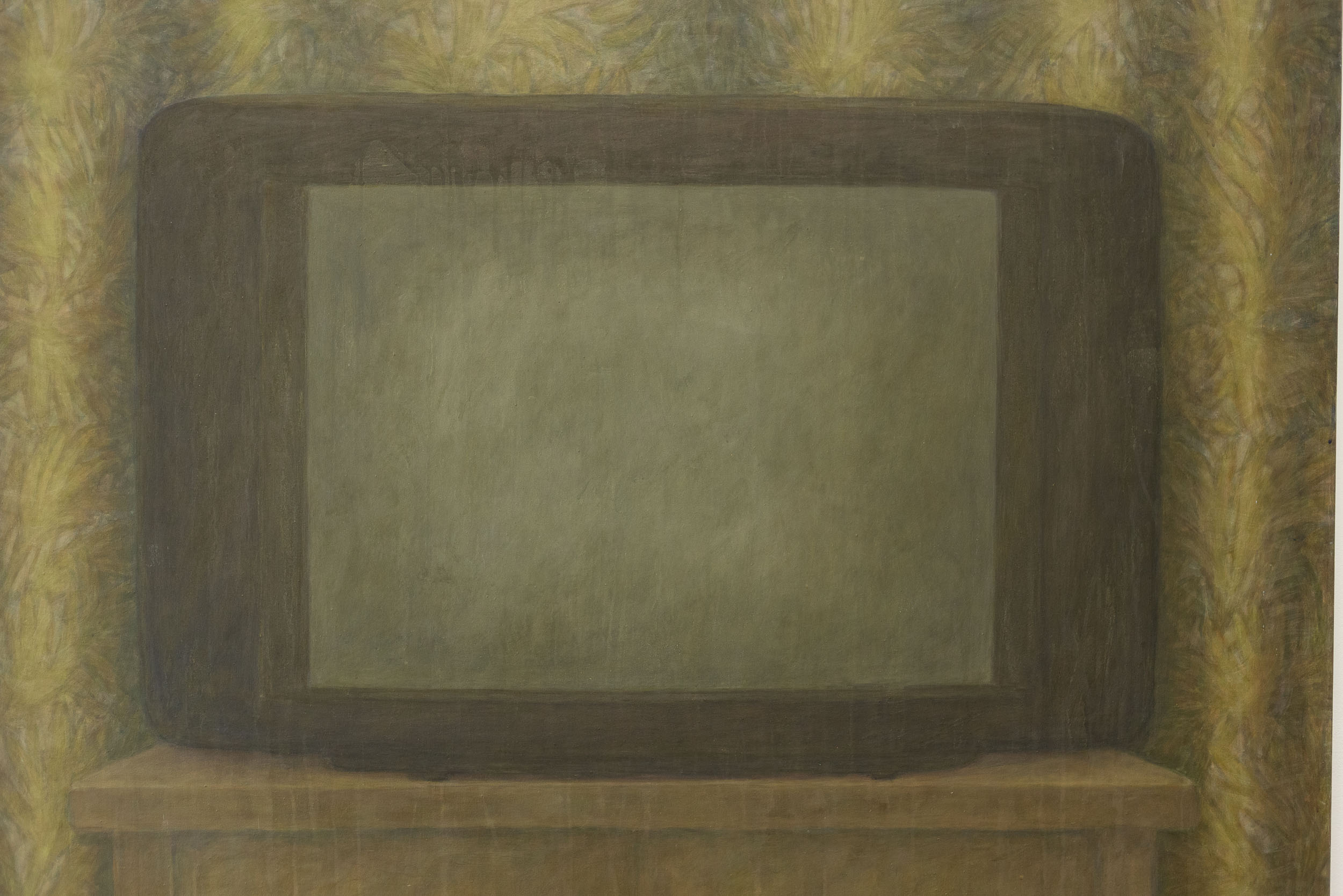Christoph Hänsli,  Untitled  (detail), 1995, egg tempera and acrylic on canvas, 139 x 120 cm  Photo: Kilian Bannwart