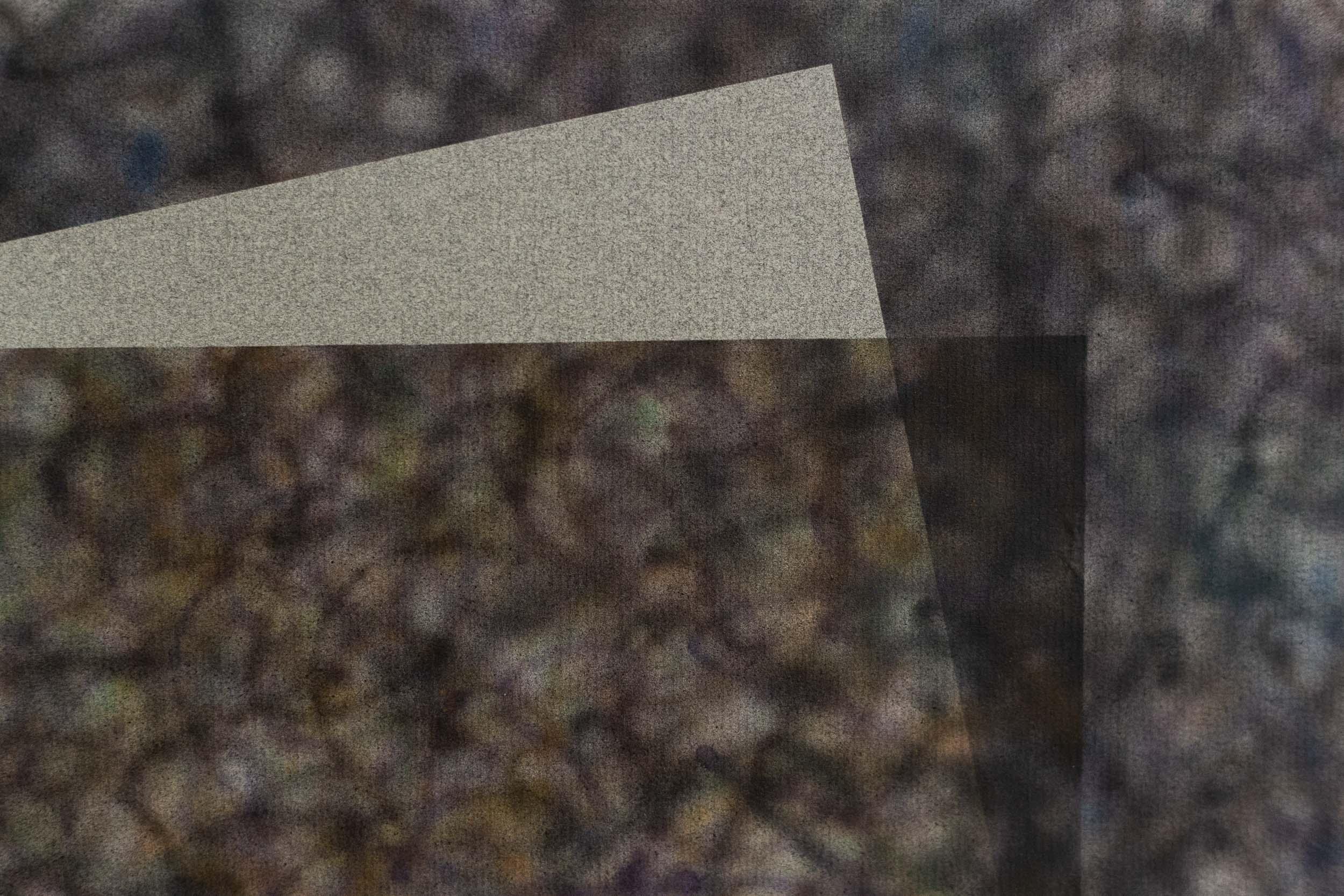 Eduardo Rubén,  Untitled  (from Windows series, detail), 1985, acrylic on paper, 35 x 55 cm  Photo: Kilian Bannwart