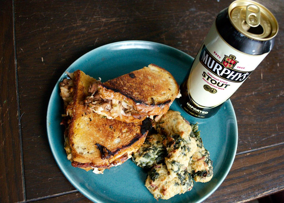 Serve Reubens with Colcannon and Irish Stout for the perfect St. Patrick's Day meal.