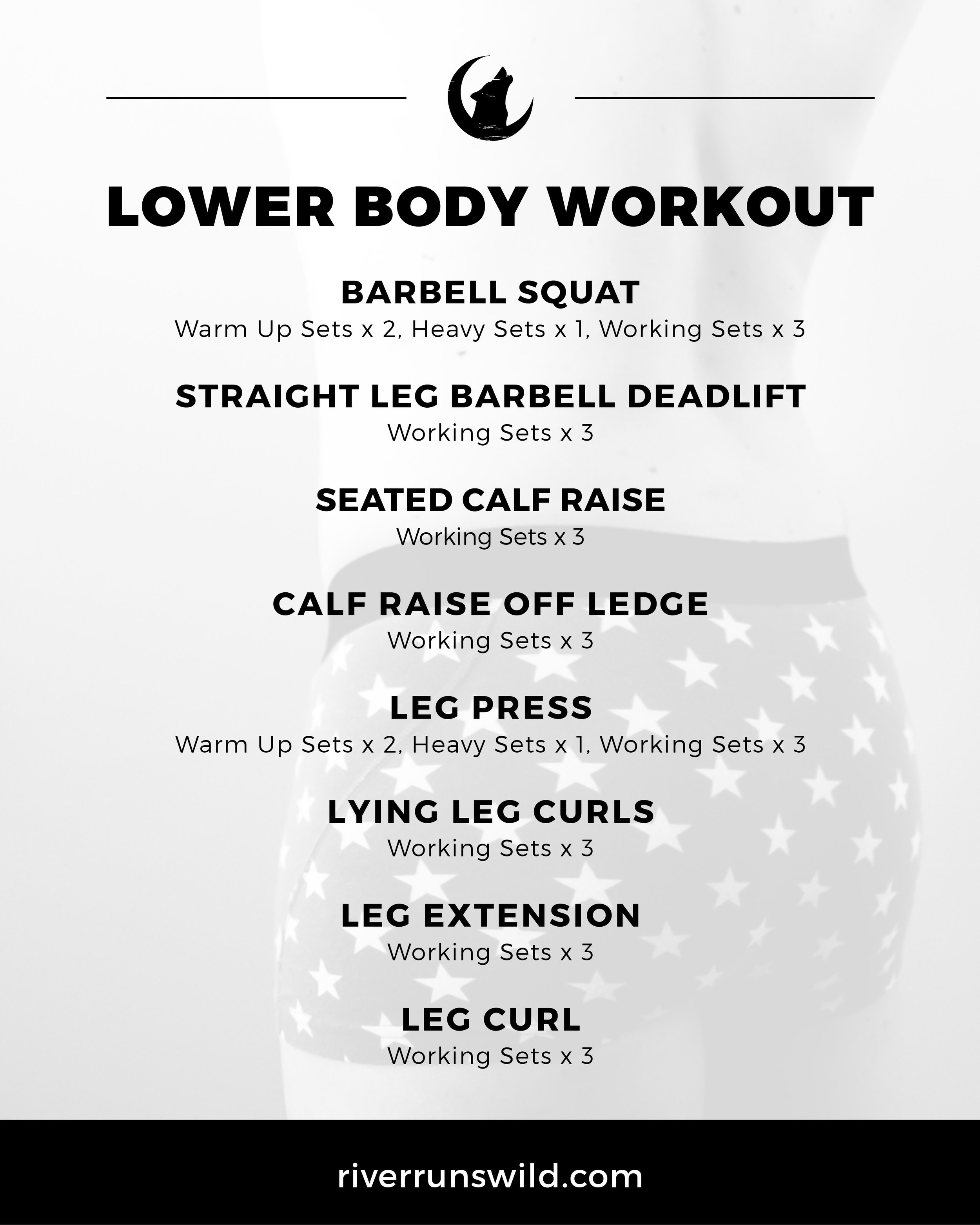 Feel free to download and share this workout!