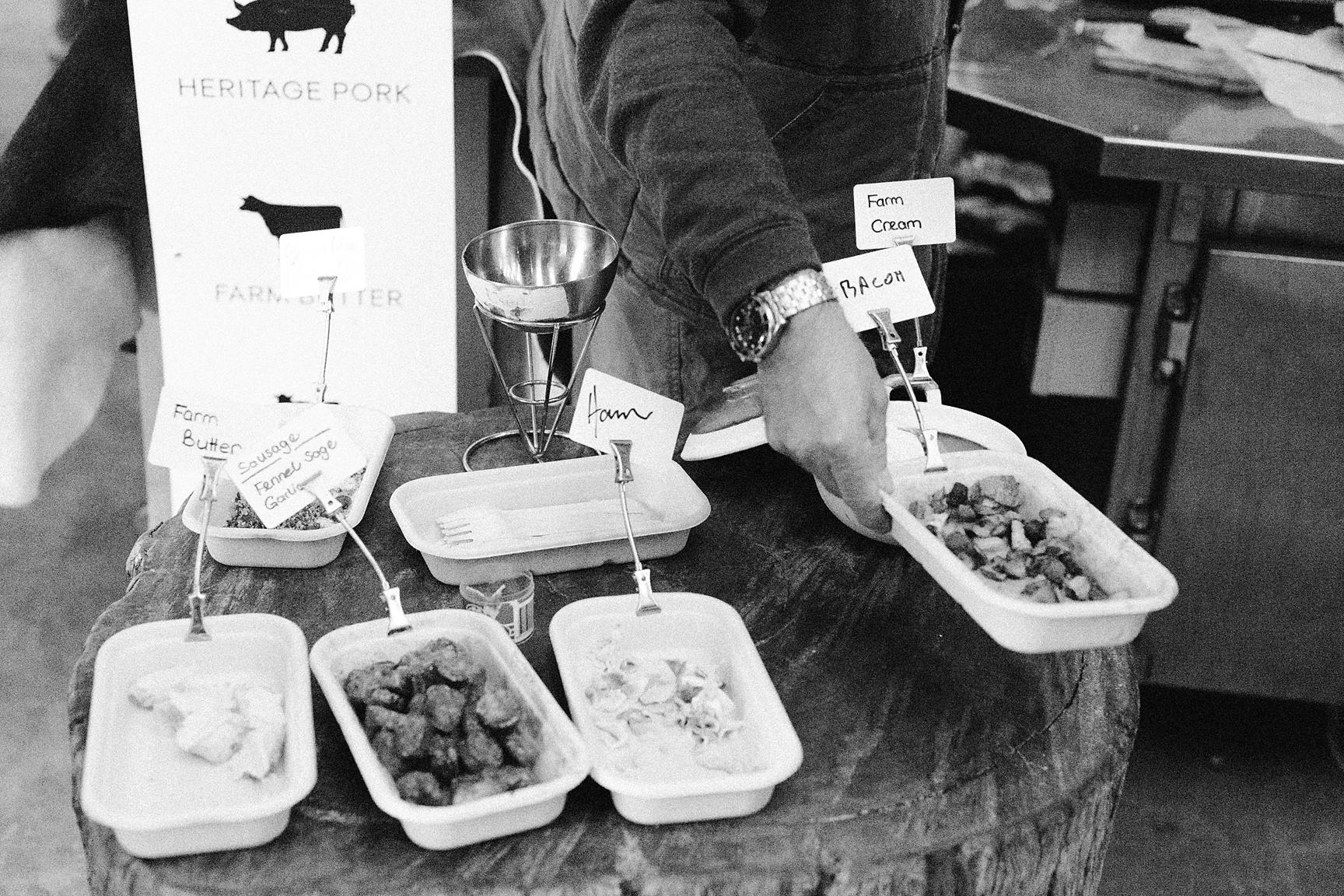 Barossa Farmer's Market samples