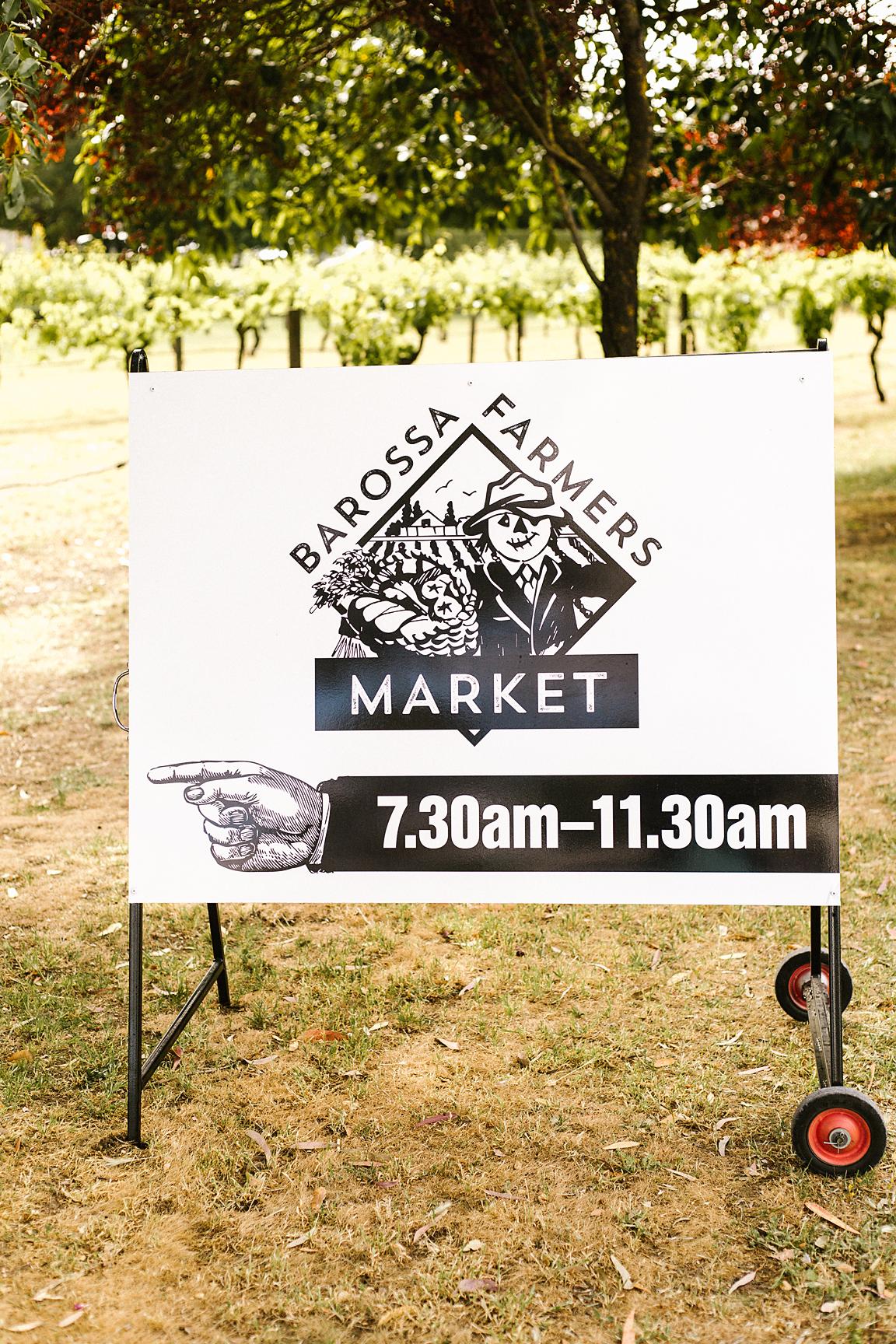 Barossa Farmer's Market is open on Saturday mornings