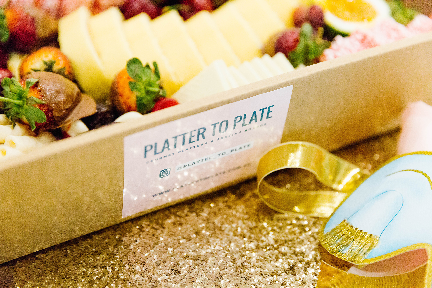 Platter box by Platter to Plate. Photography by Poppy & Sage Photography.