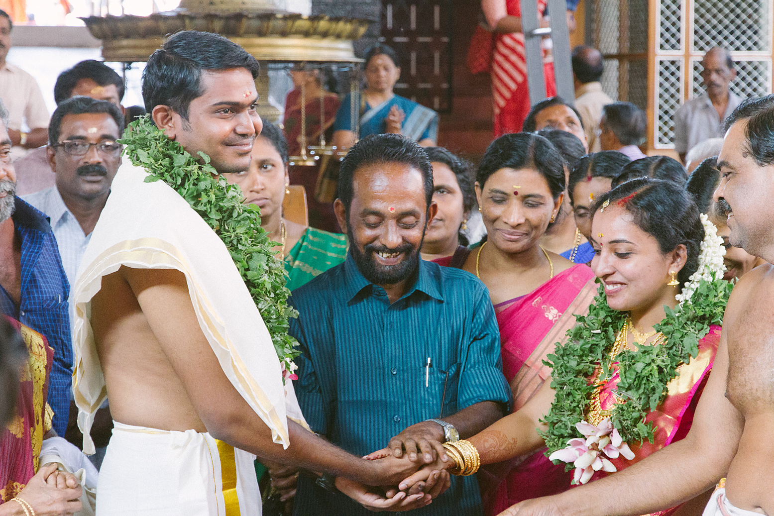 In a temple (Kerala, India). (Image by Poppy & Sage Photography.)
