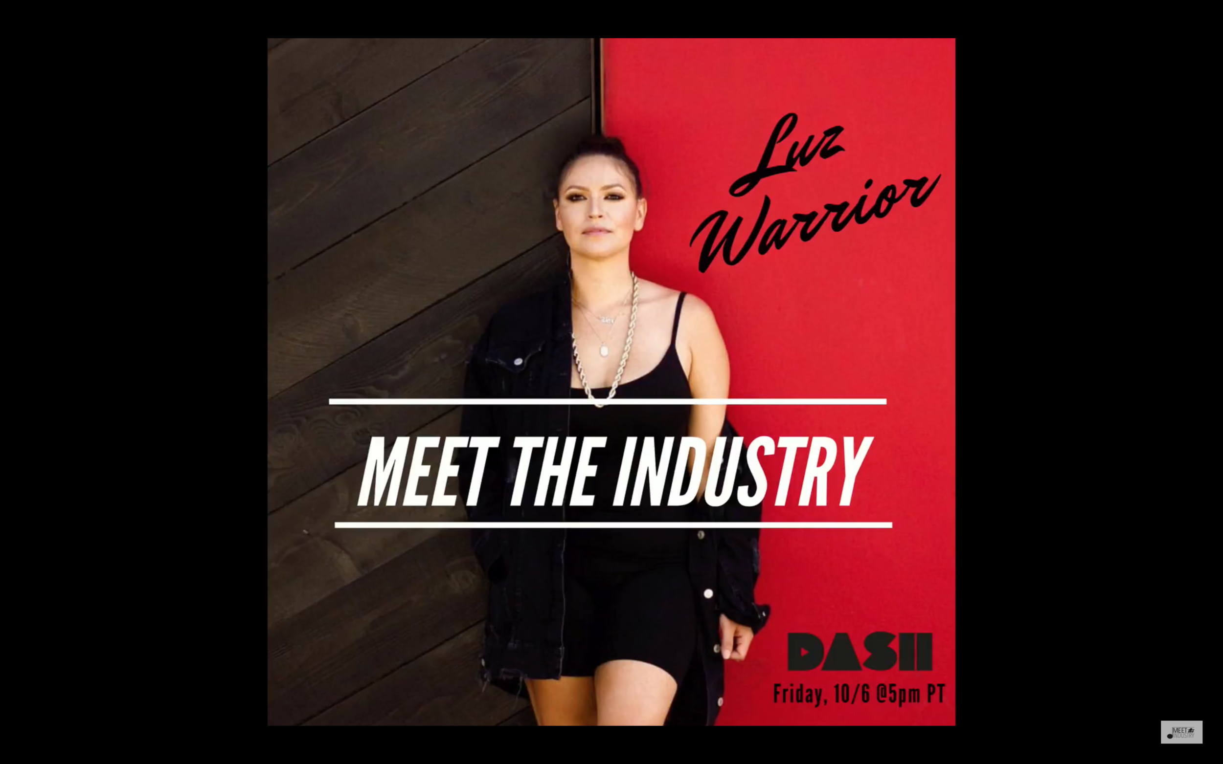 Interview with - Meet The Industry on Dash radio