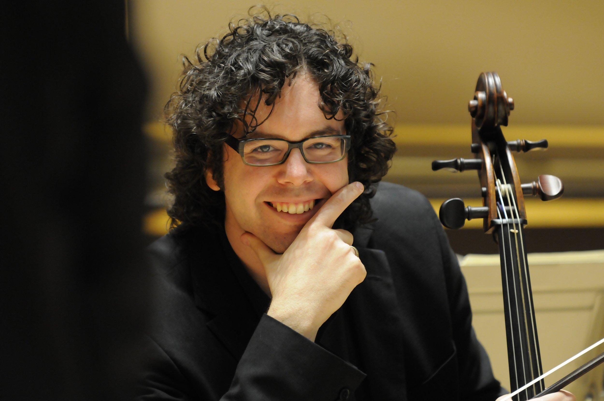 Cellist Guy Fishman