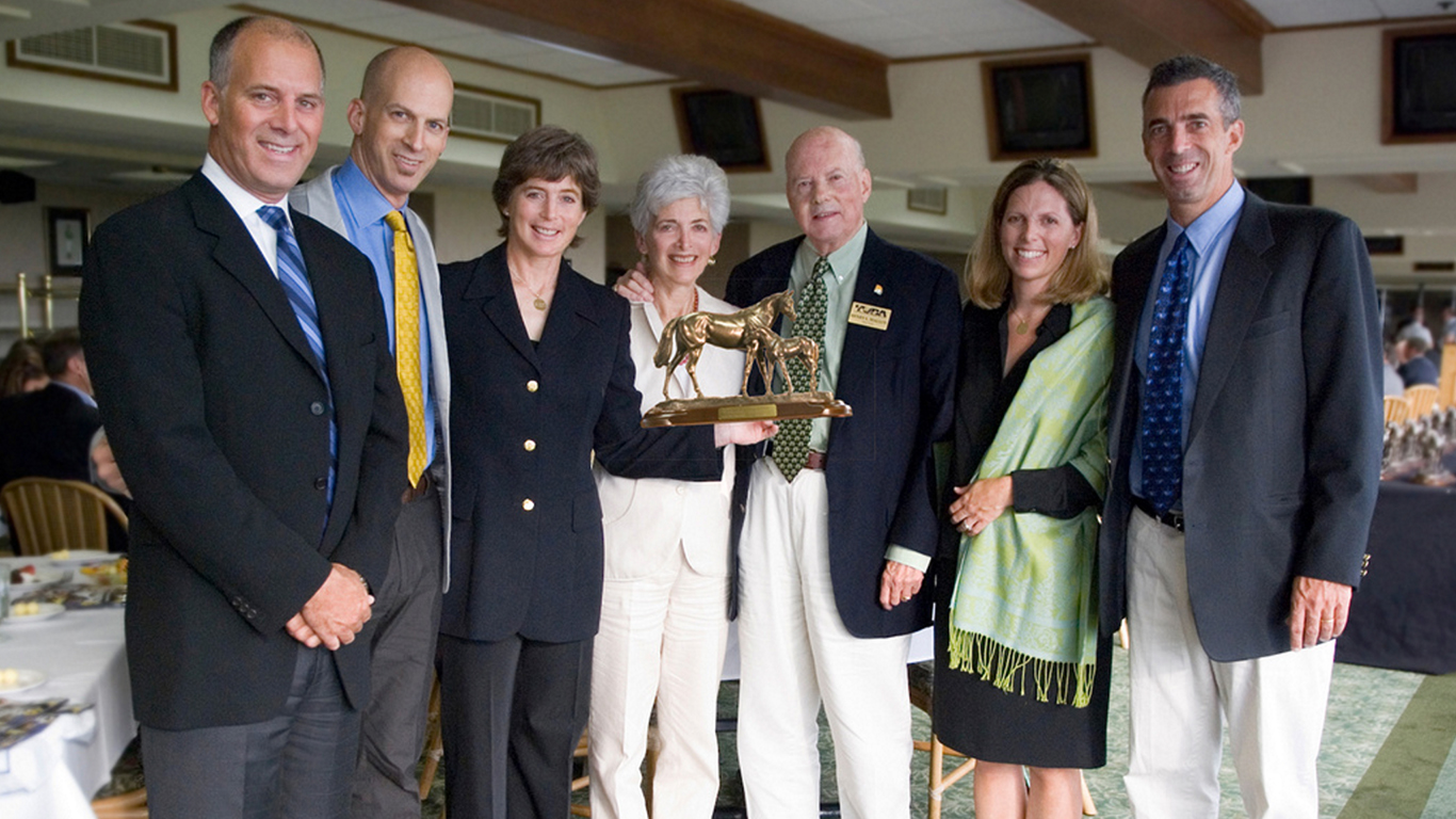 Vivien and Harry and their children at the TOBA Awards 2010 - From Left: Andrew, Mark, Debby, Vivien & Harry, Vivi and Kenneth.