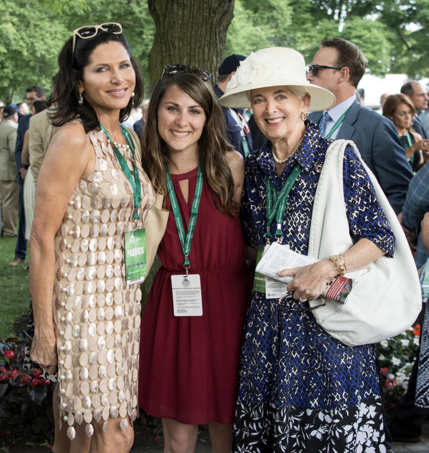 Sheila Rosenblum, Christie DeBernardis and Vivien