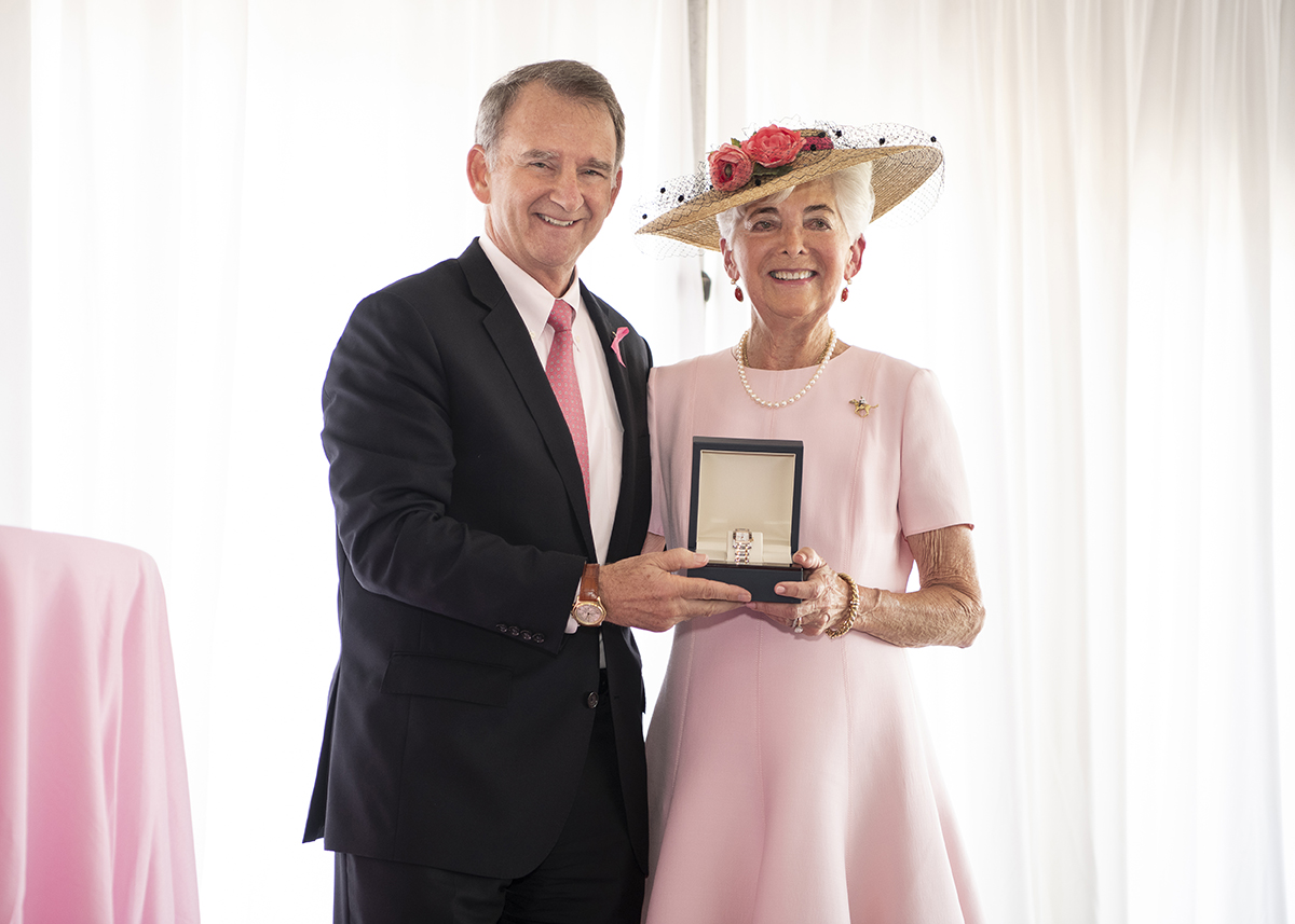 Vivien Malloy Honored at the Sizzling Hot Pink Luncheon