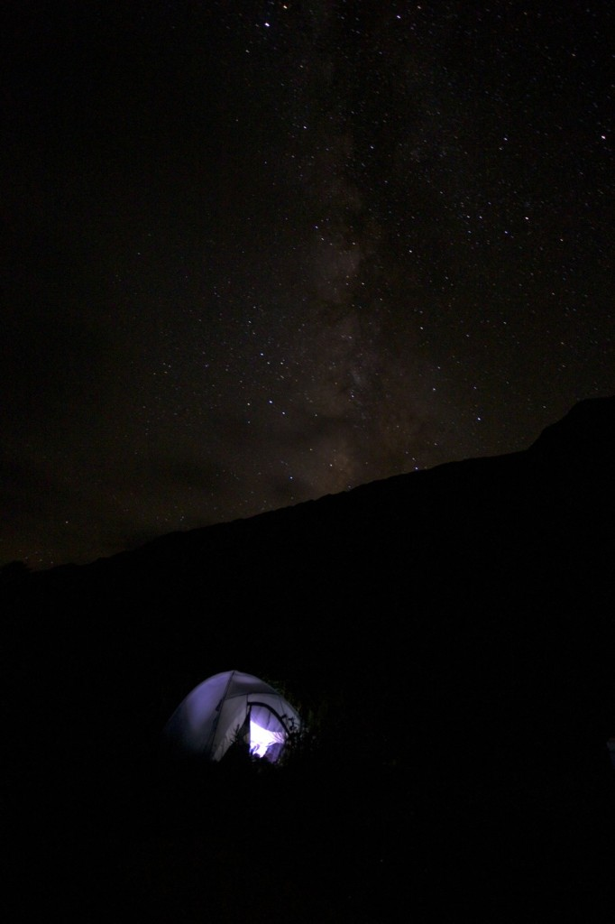slumber in the Milky Way
