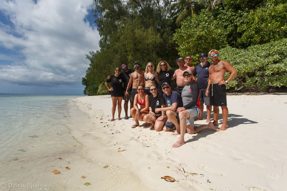 The Hydrous Palau team