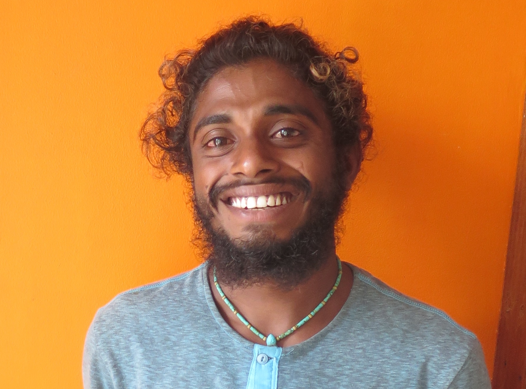 Mohamed Haseeb Abdulla (who goes by Patchi) is concerned about his country's future. Most of the land in the Maldives is less than a meter above sea level, and rising oceans are steadily encroaching. In addition, the largest coral bleaching event in recorded history occurred this year, and the beautiful Maldivian coral reefs were severely degraded. Because island nations that are affected the most by climate change are the lowest emitters of greenhouse gases, countries like the Maldives must appeal to the international community to protect their futures. To address problems that are more easily controlled than climate change, Patchi is working on local marine issues in the Maldives, with a special focus on plastic pollution. For example, Patchi has enlisted hundreds of young Maldivians to regularly lead beach cleanups and educate on how to care for coral reefs.