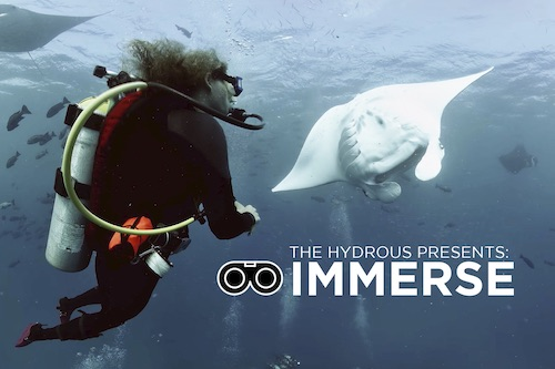 The Hydrous team traveled to Palau in February 2018 to capture 360 film using the  VRTUL2  underwater camera.