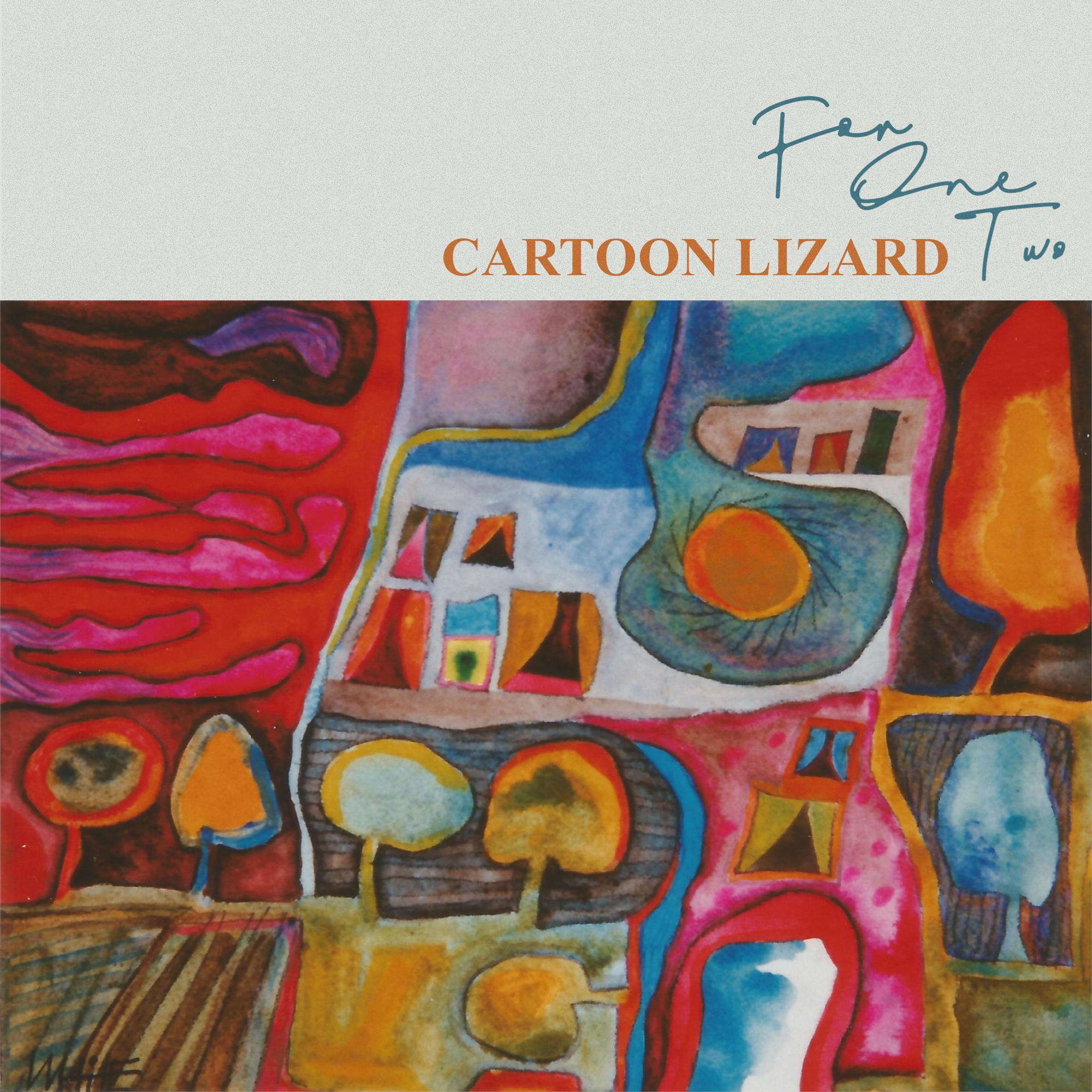 For 1 2 - Cartoon Lizard