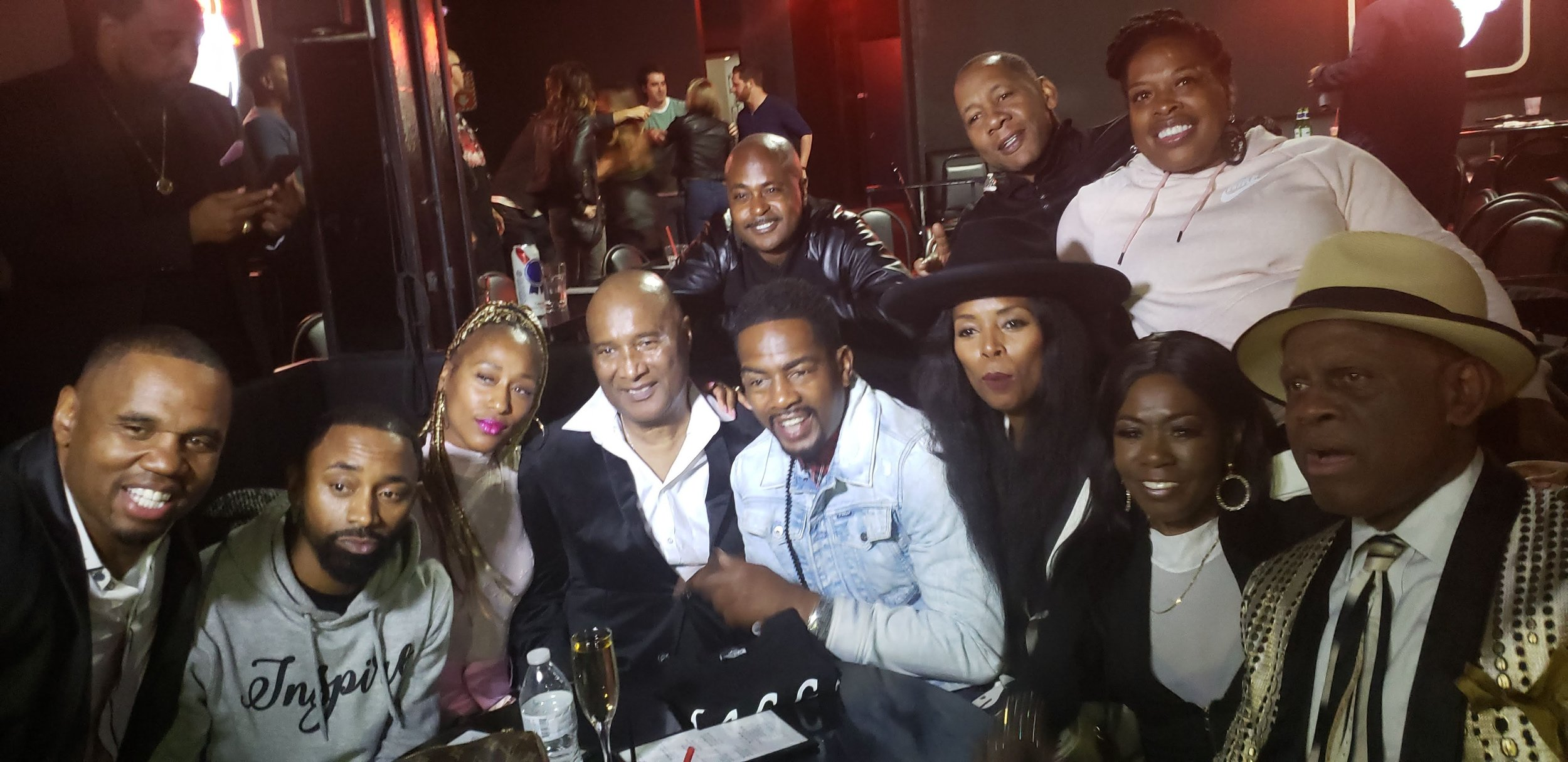 Comedians came out to tribute legendary funny man, Mr. Paul Mooney, at a recent tribute in Hollywood, CA at the World Famous Comedy Store!