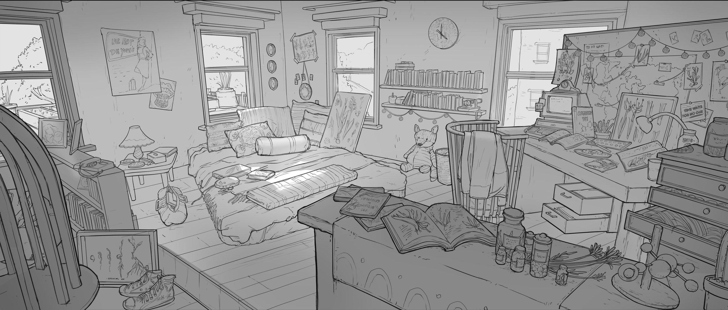 Sketches Debbie Yeo