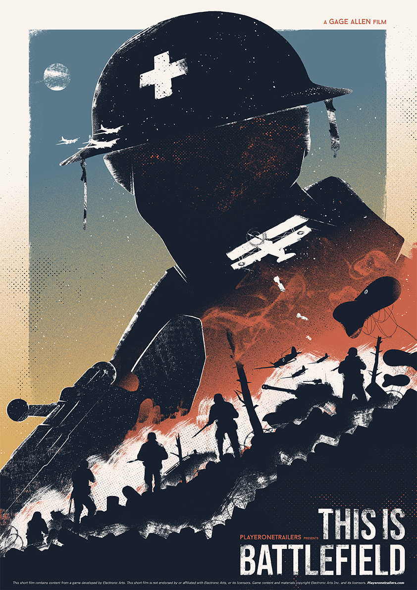 This Is Battlefield - Promotional Poster