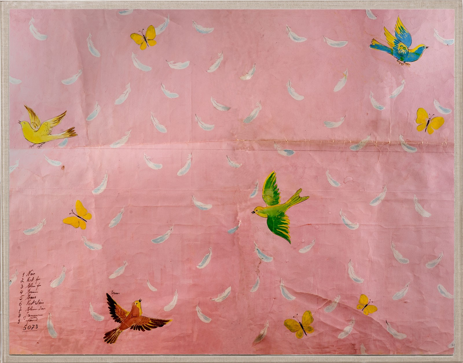 """""""Feathers"""" is another hugely popular print."""
