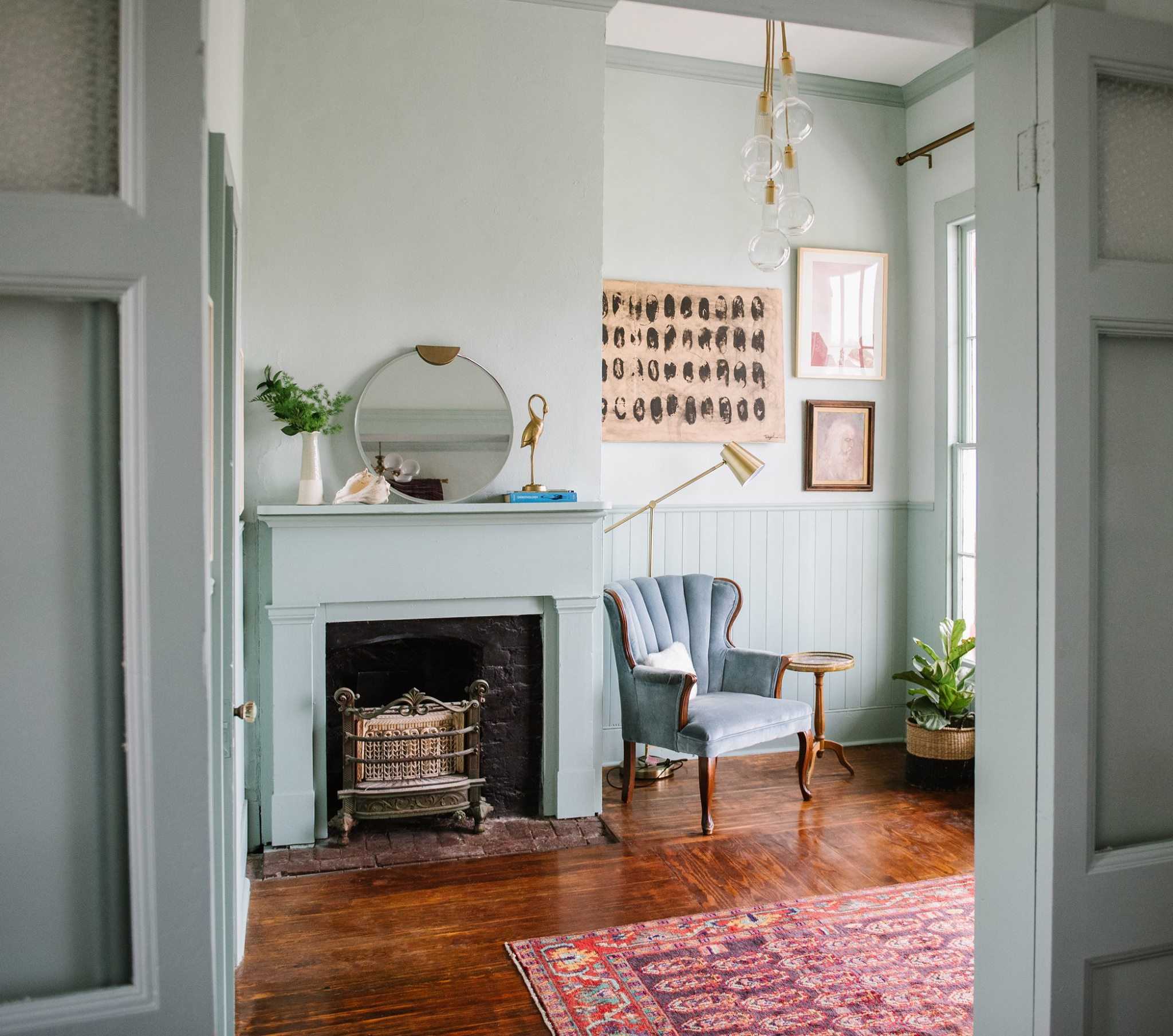 """""""This suite is called The Newlyweds for John & Ida Gross, who were given the estate as a wedding gift by Ida's parents, Herman & Bertha Marwitz.""""Photo by Maggie Kloss / Source:  Carr Mansion"""