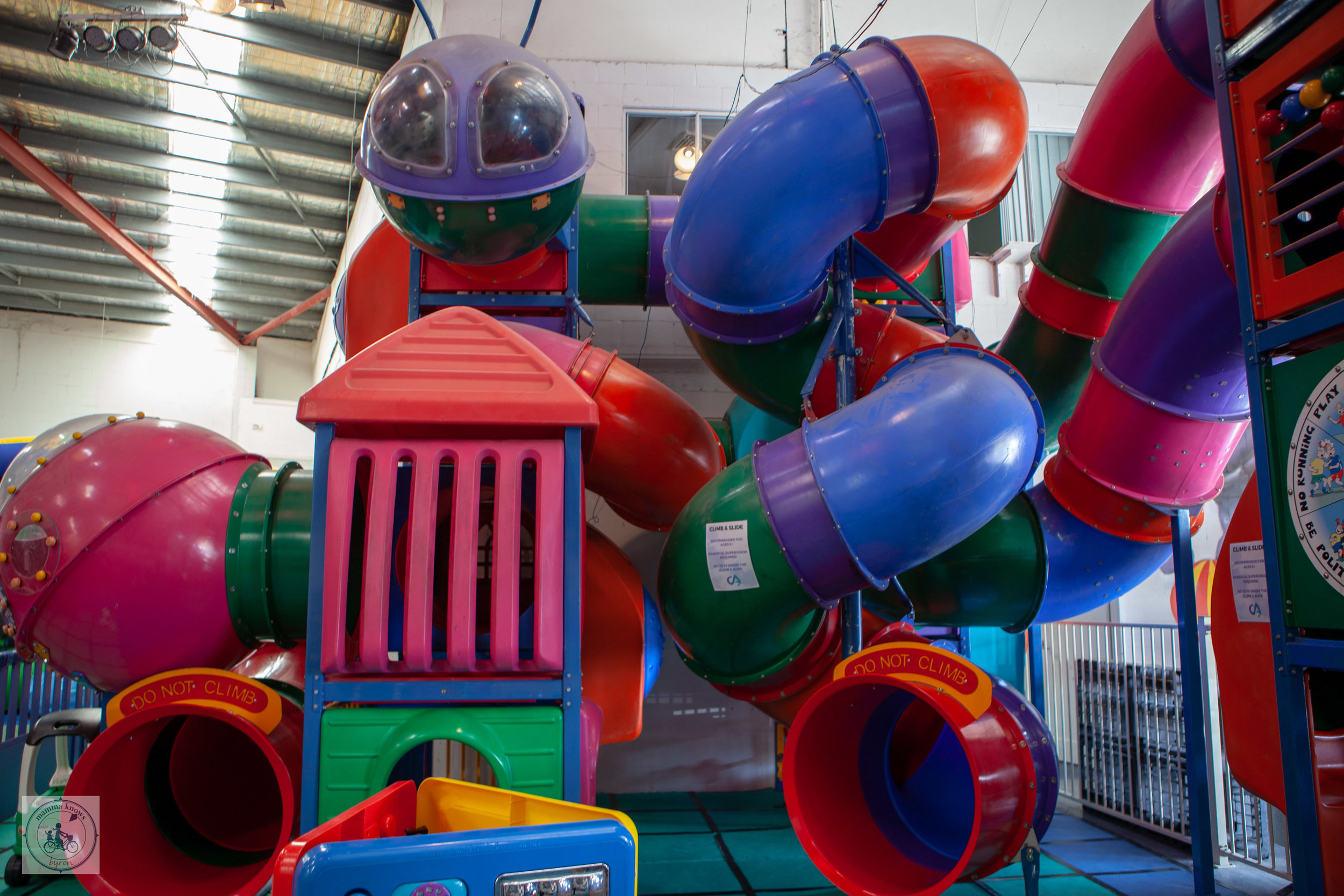 Circus Arts Play Space - Mamma Knows Byron