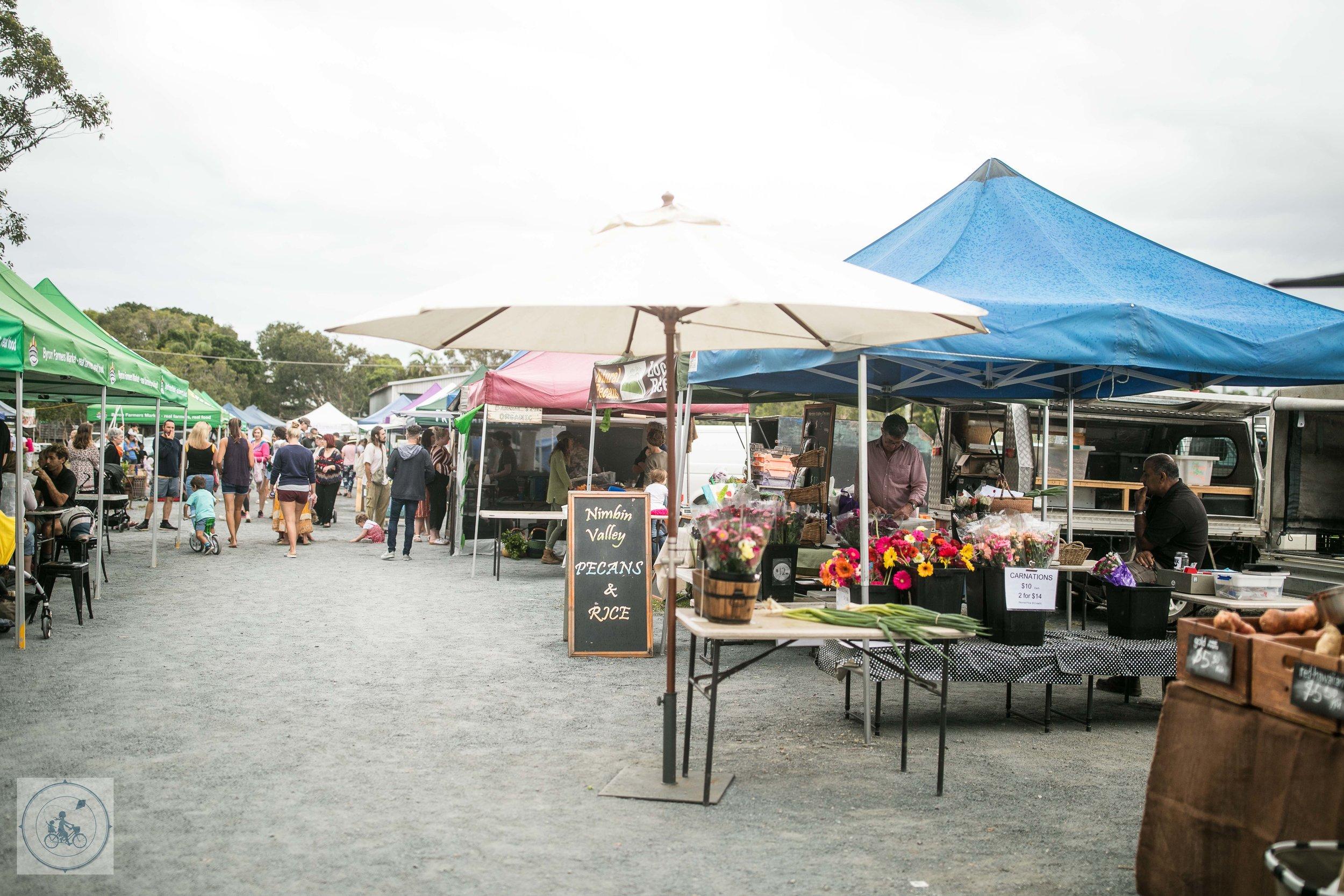 Byron Bay Farmers Markets - Mamma Knows Byron