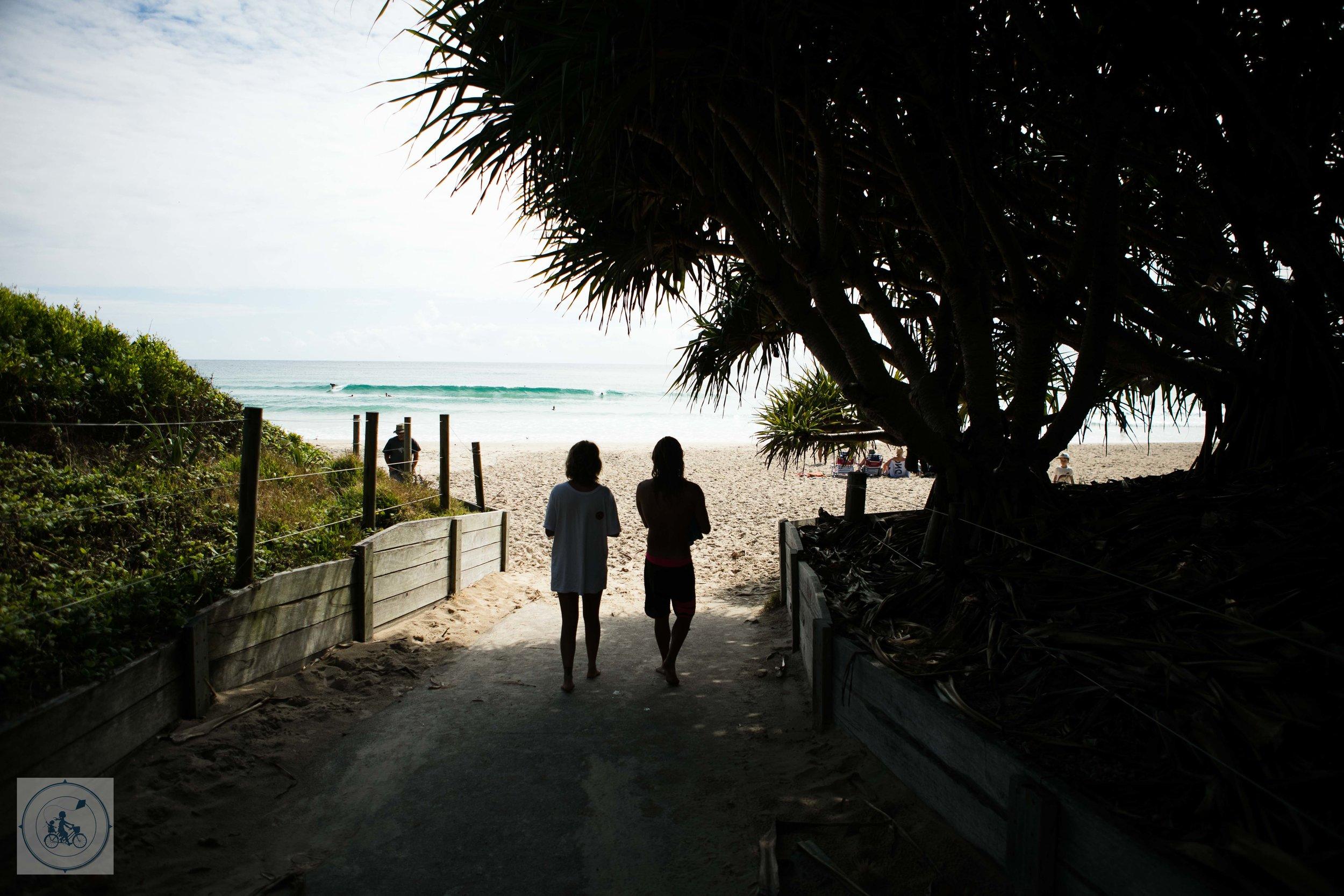 Broken Head Beach - Mamma Knows Byron