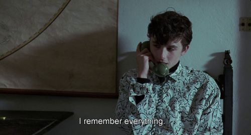 On André Aciman Letting His Protagonists Love From Afar - Photo from Call Me By Your Name, 2017