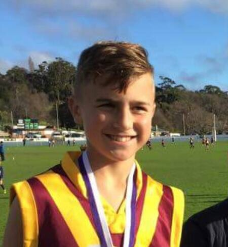 Congratulations to Beau Nash on his selection in the Under 12 Tasmanian Football Team. This team will contest the SSA Championships in Darwin in August. Good luck, Beau!