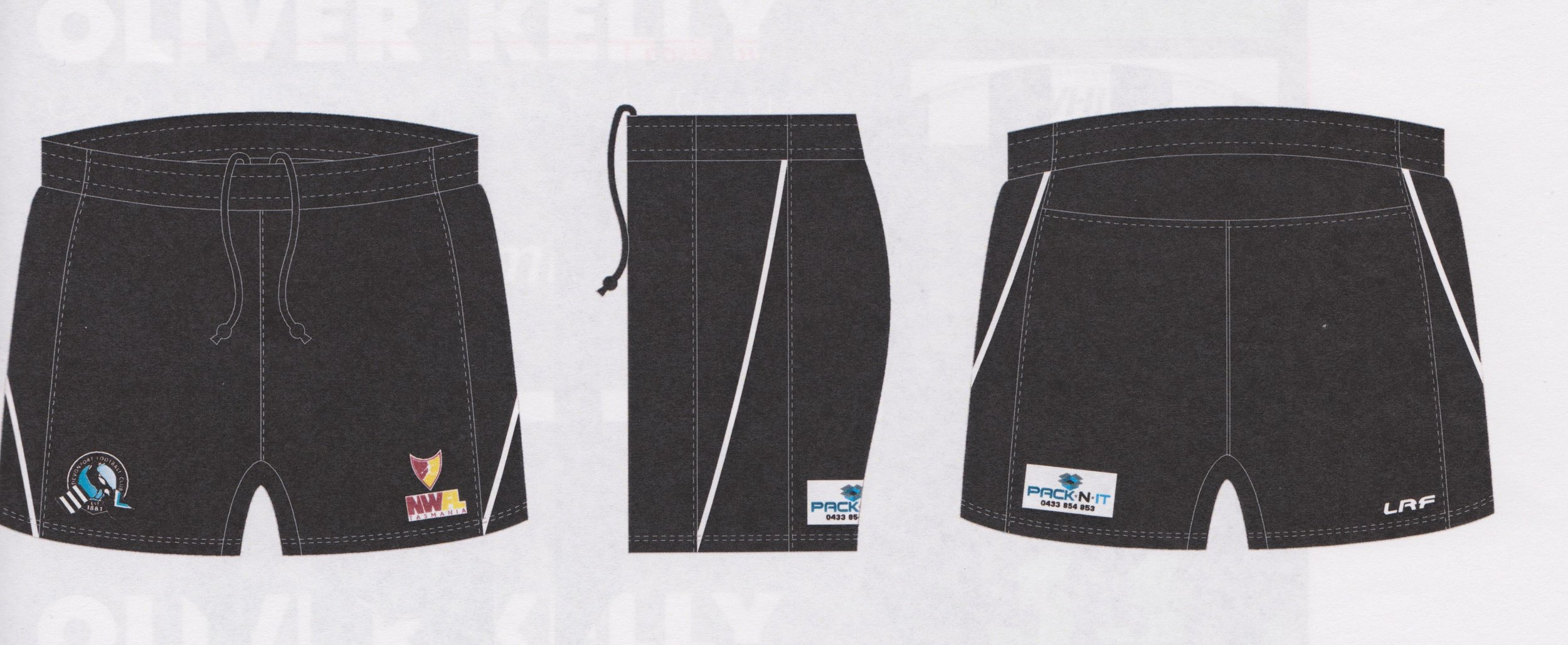Playing shorts - $30