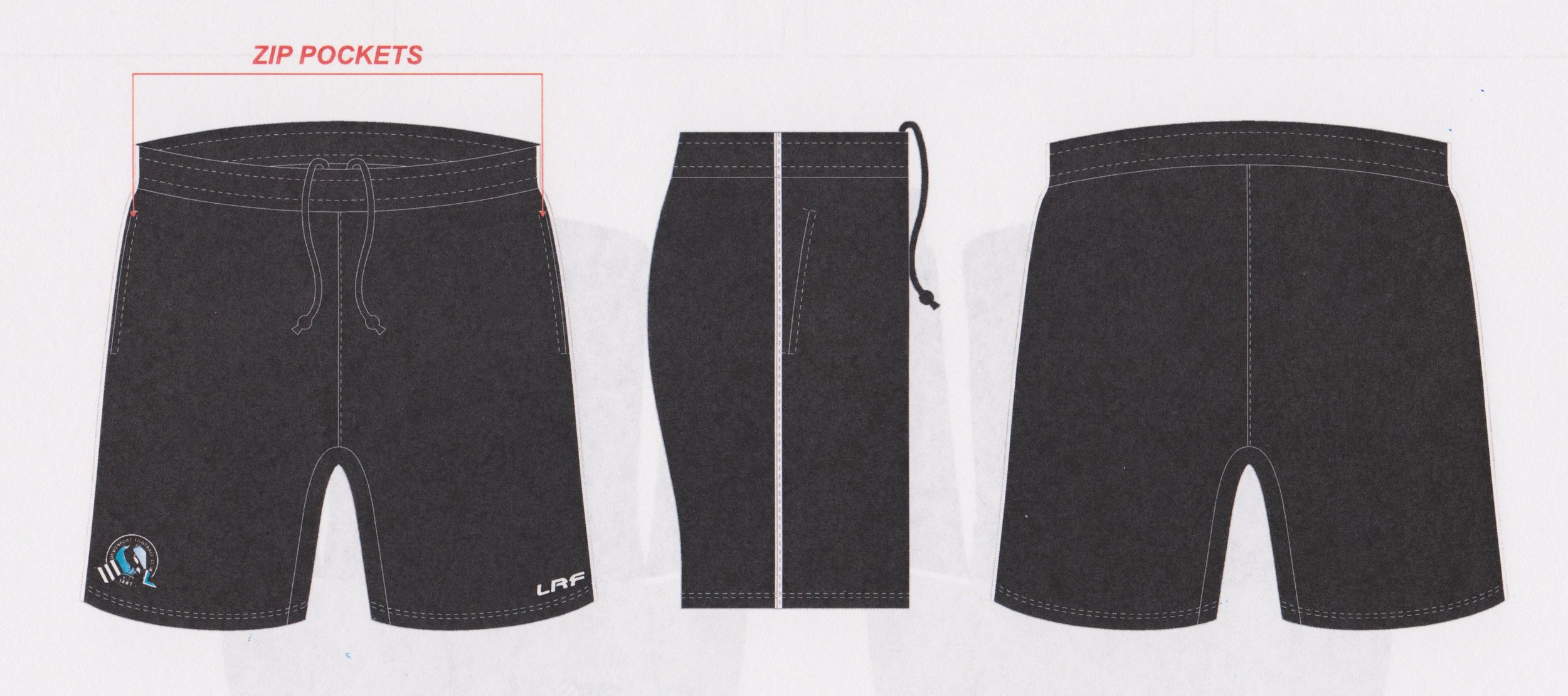 Travel shorts - $40
