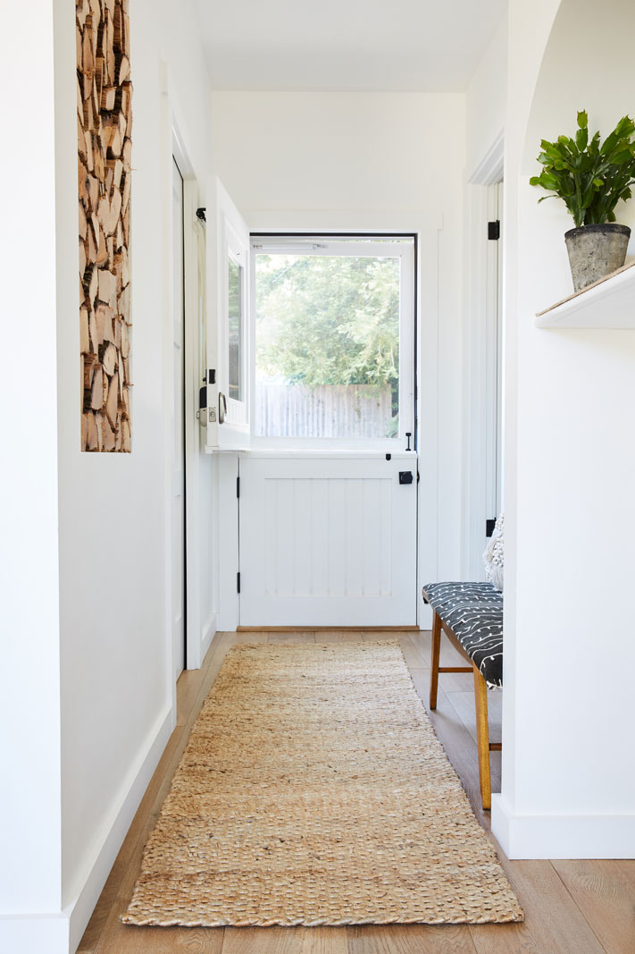Hallway with Front Dutch Door