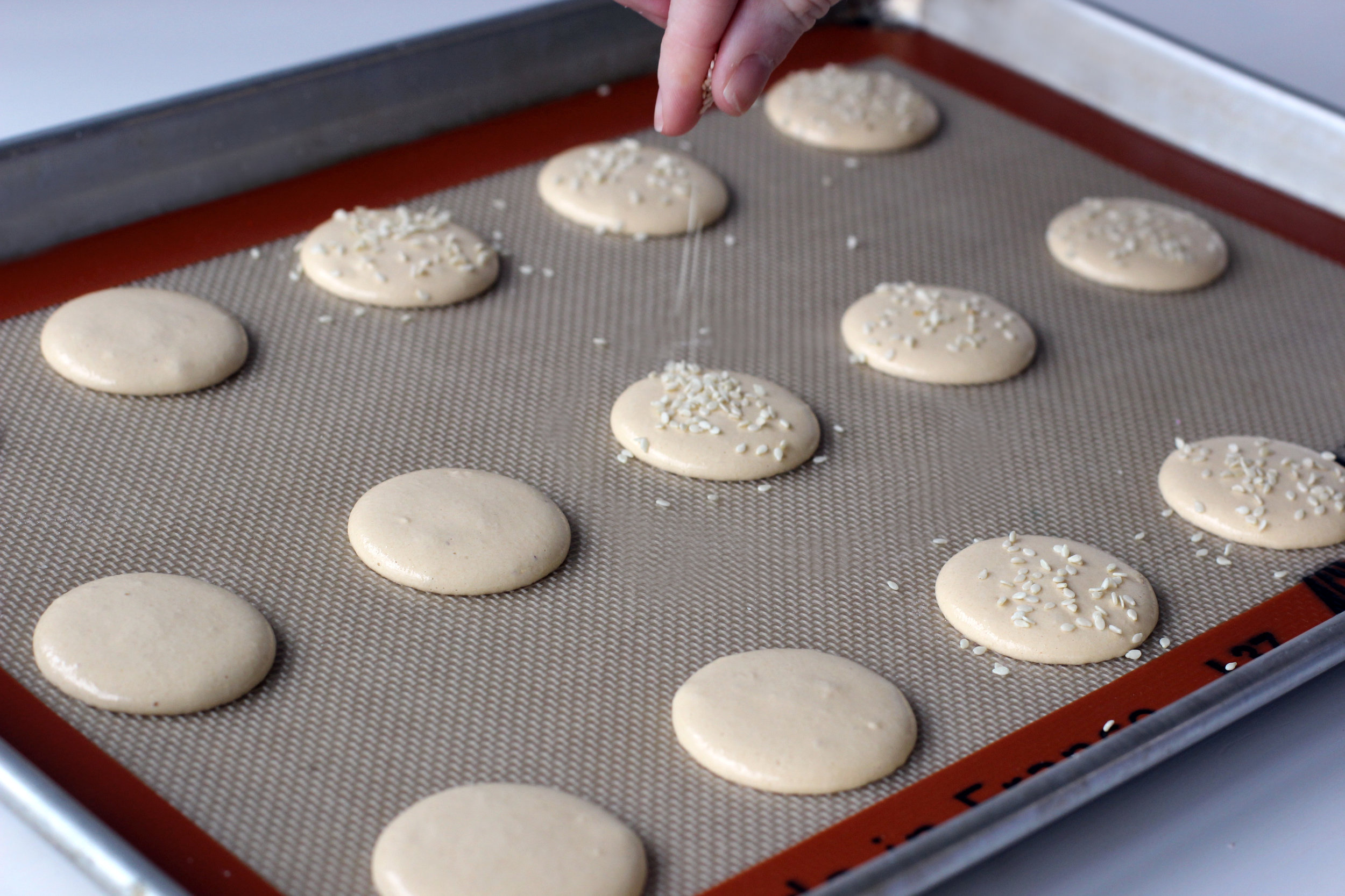 Step 1: Make Macarons.