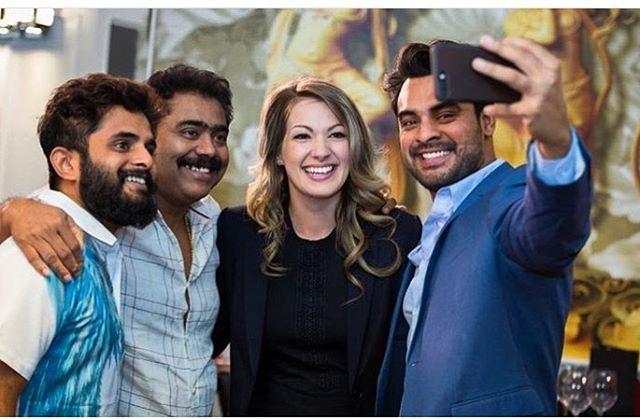 To these lovely people! . . . . . . . . #andtheoscargoesto #atogt #film #actress #canadianactress #actor #canadianactor #filmlife #selfie #funtimes #filmab #mollywood #tovinothomas #tovino #malayalam #malayalamfilm #frommollywoodtohollywood #nikkiraehallow #friends #filmcanada #filmindia #love