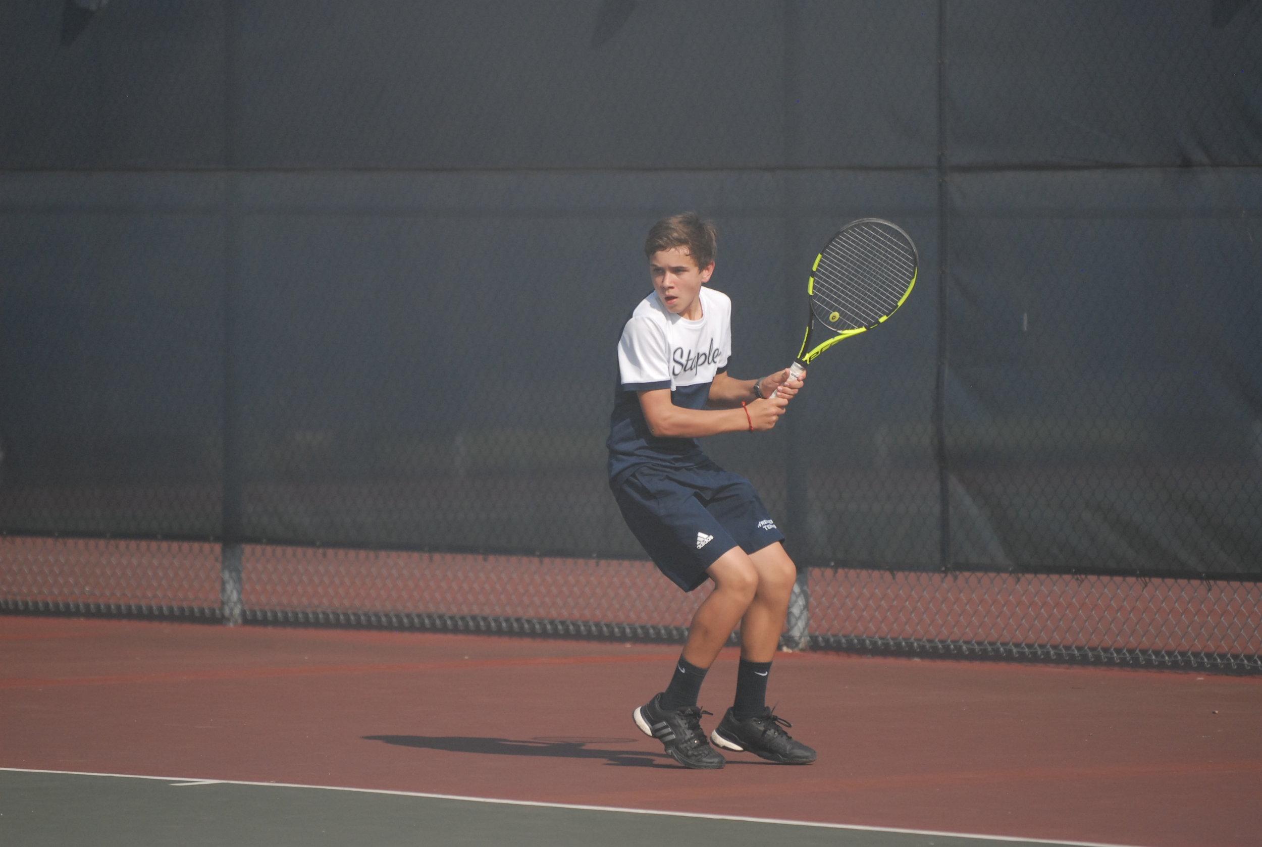 Jack Tooker   Tennis