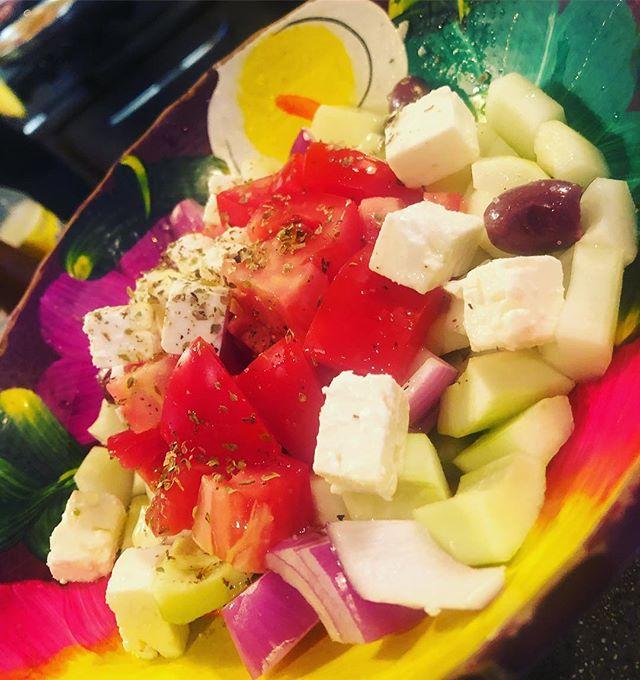 Shepard's salad 🥗❤️🌈