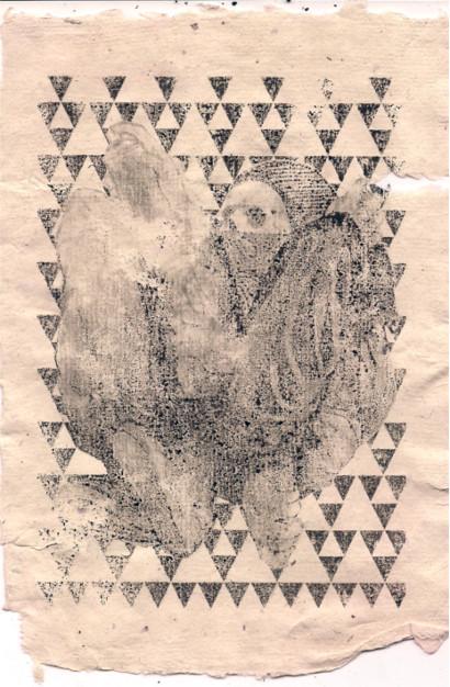 008_ print on handmade paper A5