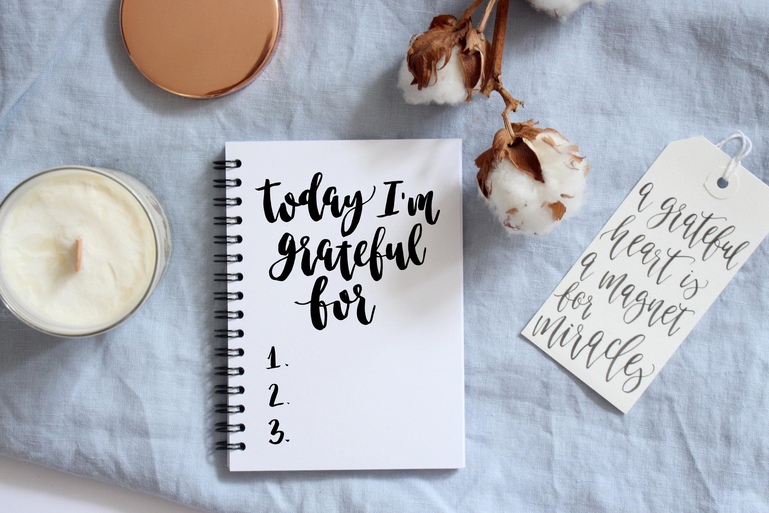 Gratefulness checklist