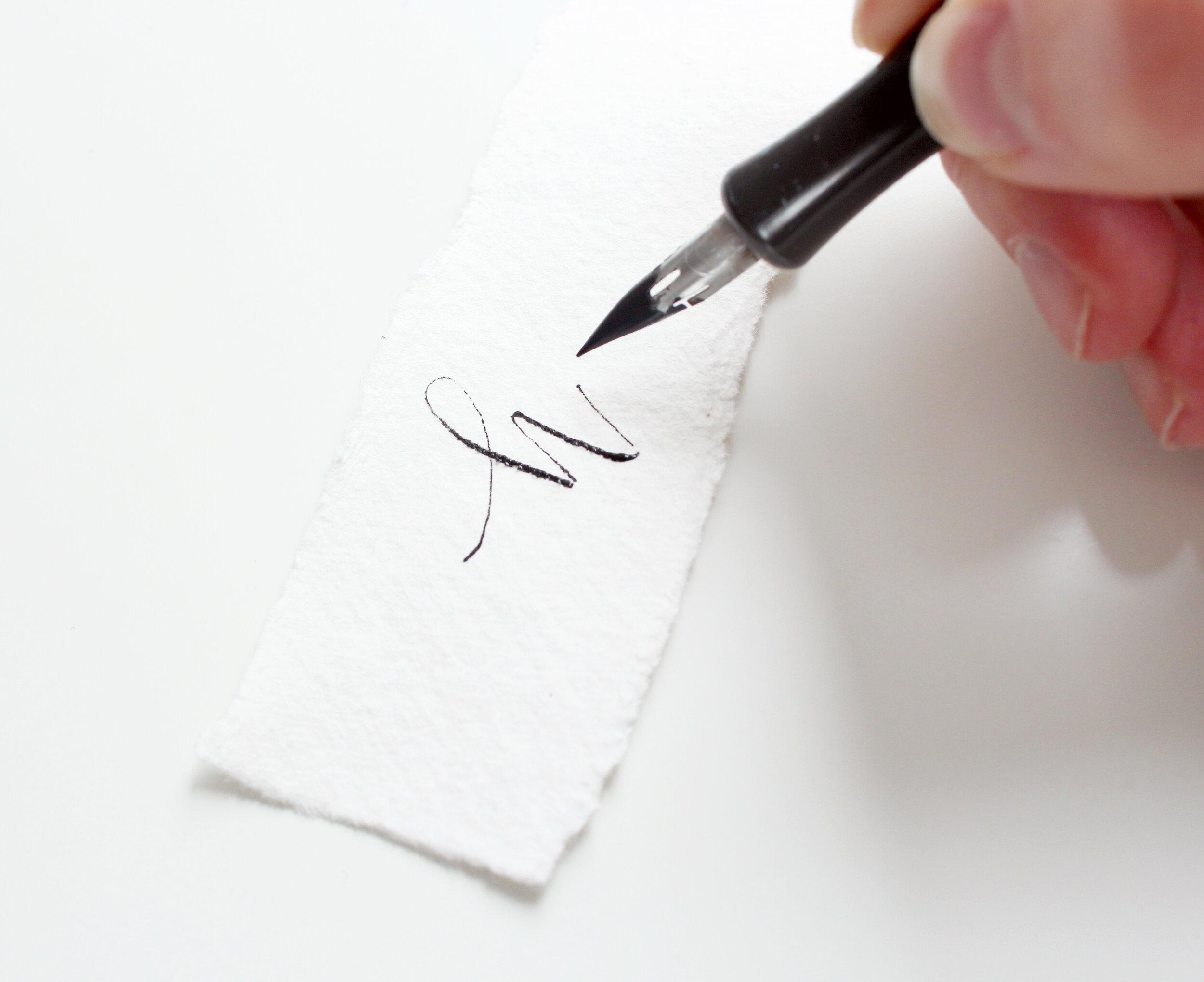 modern calligraphy supplies