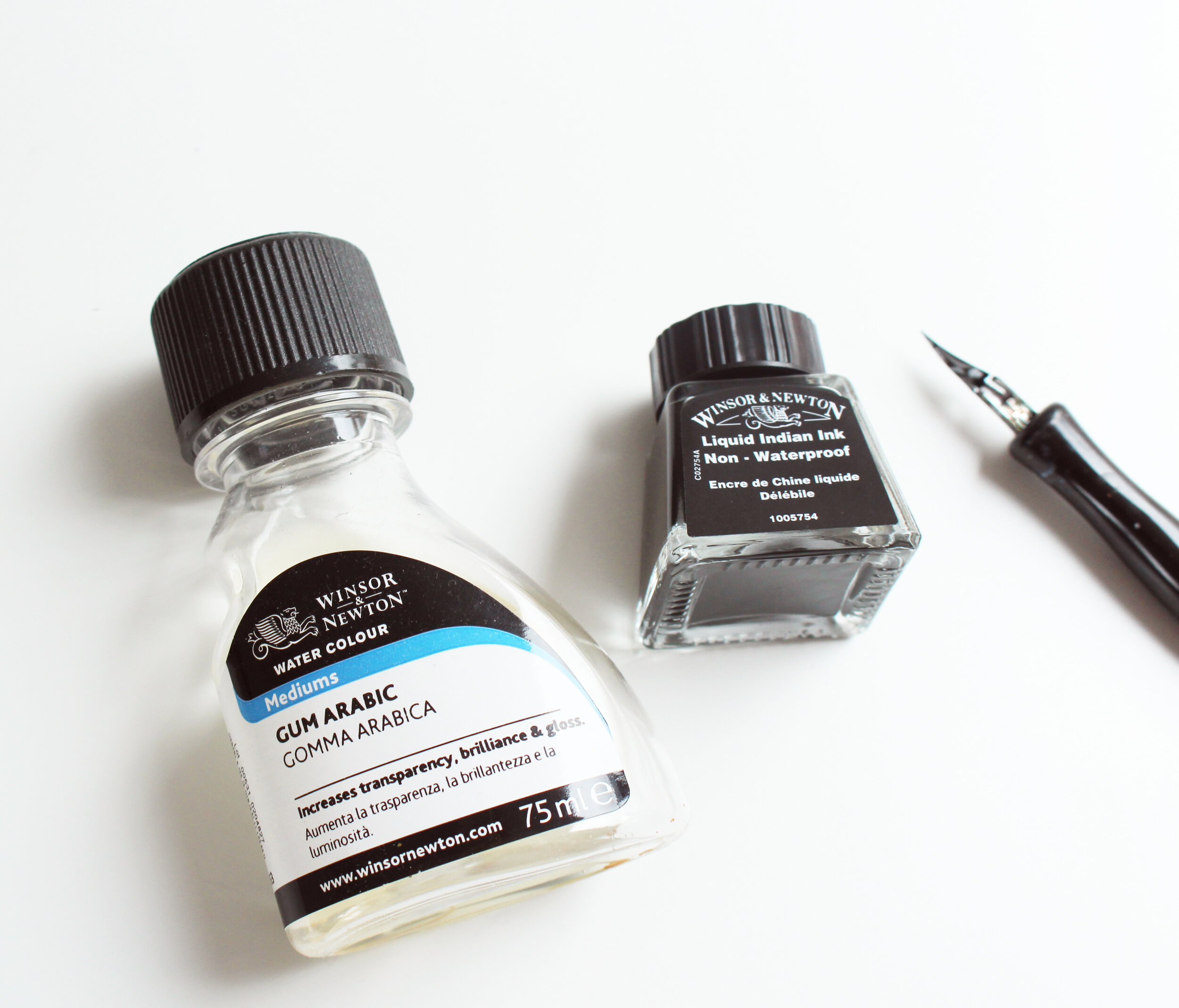 calligraphy supplies recommendations