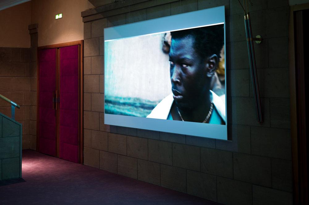 In Sight installed at: OUTSIDE THE BLACK BOX Lo schermo dell'arte Film Festival, Italy