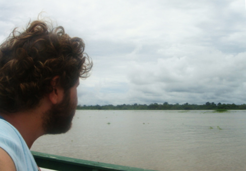 Rio Amazonas! Momentos antes de ver um boto rosa