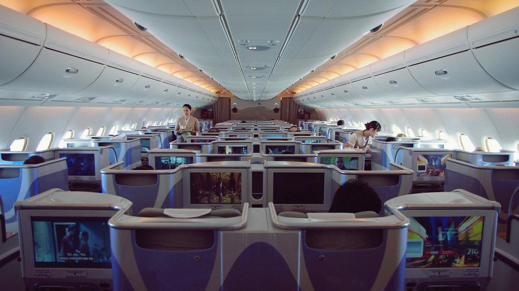 Classe Executiva do A380 da Emirates