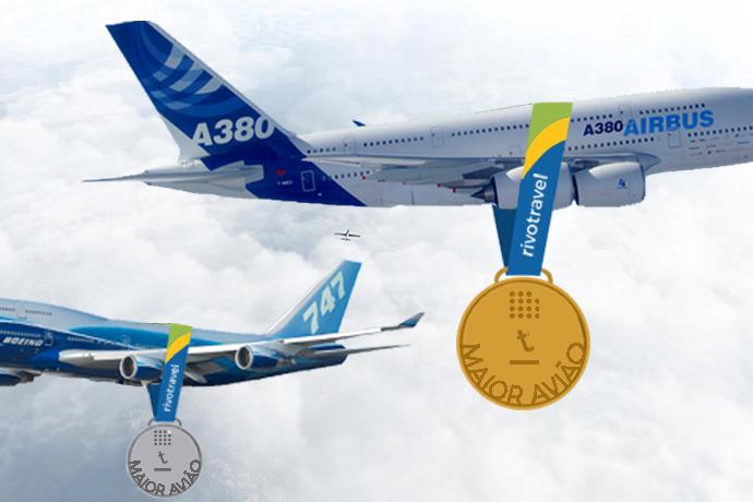 Foi bom enquanto durou, Boeing 747, mas desde 2007 o maior avião comercial do mundo é o Airbus A380