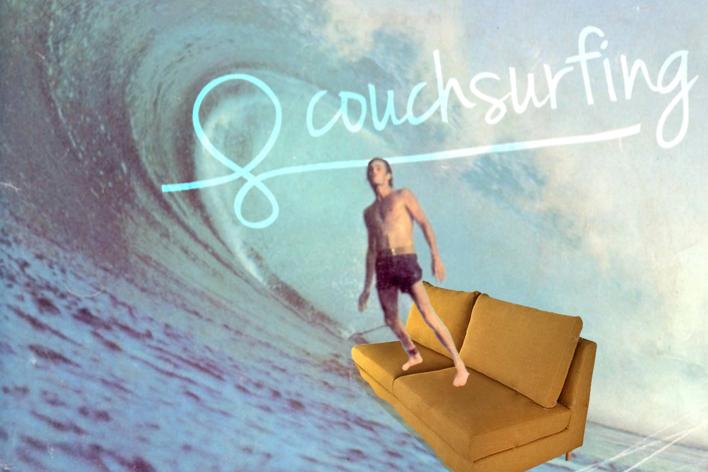 """O Couchsurfing, que em português significa algo como """"surfe em sofás"""", teve seu website lançado em 2004"""
