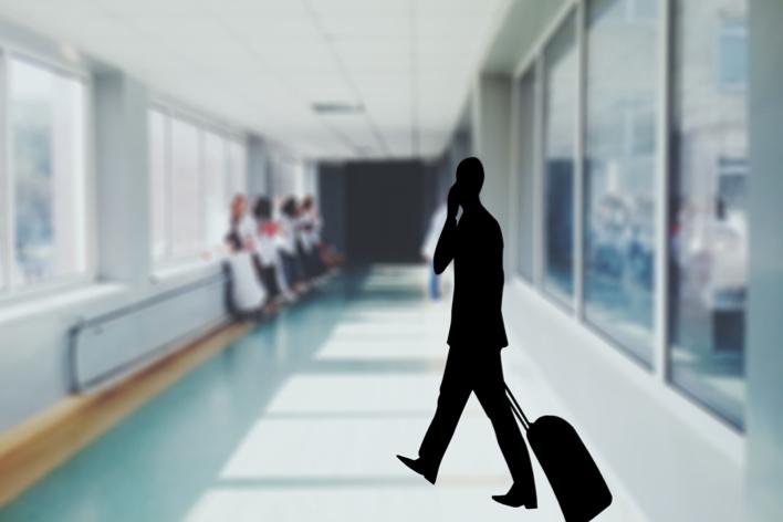 Talvez seja o caso de dar uma passadinha no médico antes da sua próxima viagem