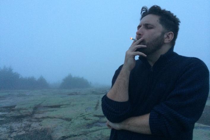 Ah, o ar puro da montanha... Hã? Que foi?