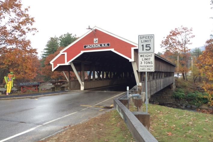 Ponte em Jackson, New Hampshire