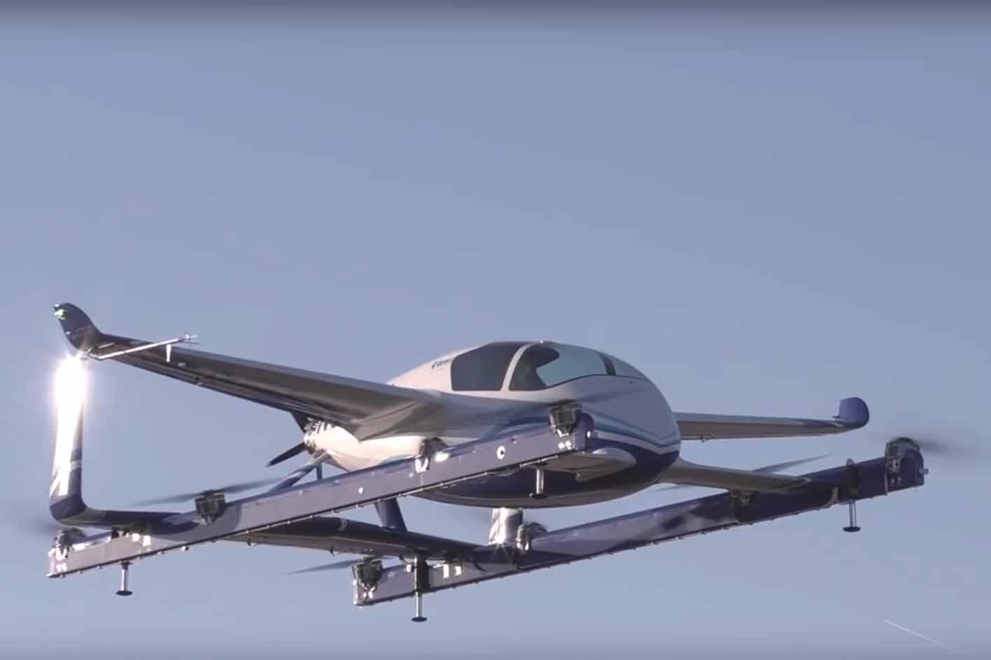 """O projeto da Aurora, empresa subsidiária da gigante americana Boeing, voou """"de verdade"""" em janeiro desse ano. Por alguns segundos, mas voou…"""