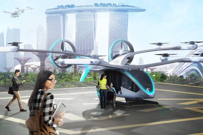 EmbraerX está projetando eVTOL que seja acessível a cadeirantes
