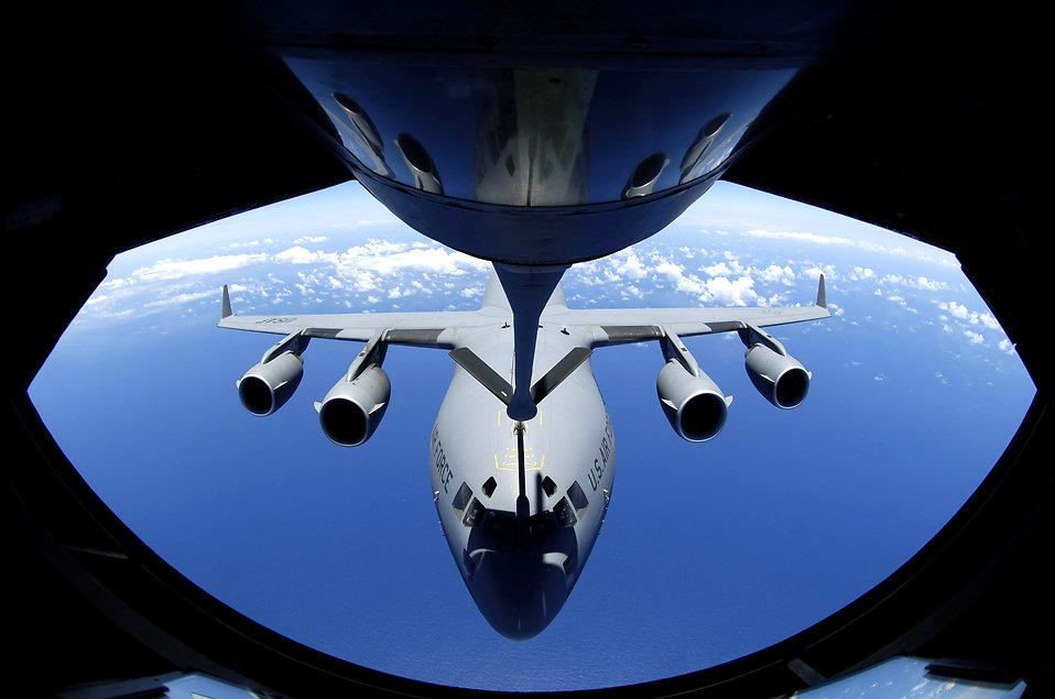 Foto feita pela Força Aérea dos EUA